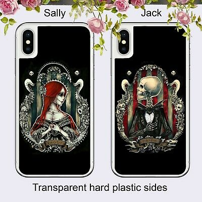 £5.99 • Buy Nightmare Before Christmas His Hers Case Cover For IPhone Samsung Huawei Google