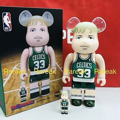 $268.99 • Buy Medicom Be@rbrick 2020 NBA Basketball Celtics Larry Bird 400% + 100% Bearbrick