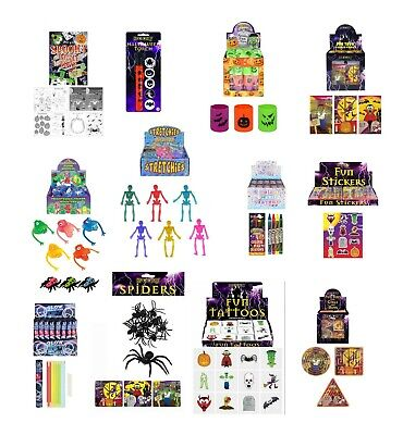 Halloween Party Bag Fillers Toys Lucky Dip Prizes Choose Toy - Buy 3 Save 10% • 2.75£