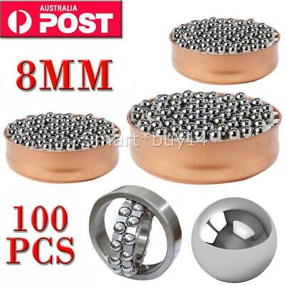 AU9.95 • Buy 100PCS Steel Loose Bearing Ball Replacement Parts 8mm Bike Bicycle Cycling AU