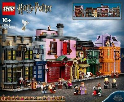 AU725 • Buy Brand New LEGO Harry Potter - Diagon Alley - 75978