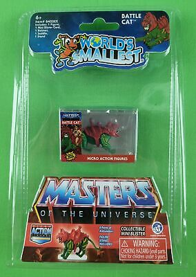 $17.95 • Buy Worlds Smallest Masters Of The Universe Battle Cat (in-hand) Ultra Rare! Wow!