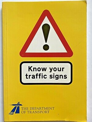 £0.99 • Buy Know Your Traffic Signs By The Department Of Transport (HMSO Paperback, 1995)