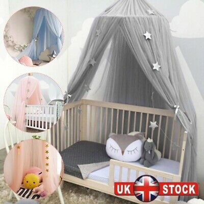 Hanging Baby Bed Canopy Mosquito Net Dome Dream Curtain Tent Children Room • 21.82£