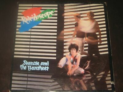 Siouxsie And The Banshees Rare '80 USA 1st Press LP Kaleidoscope On PVC EX+ Punk • 22.99£