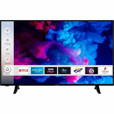 View Details Techwood 43AO9FHD 43 Inch TV Smart 1080p Full HD LED Freeview HD 3 HDMI • 229.00£