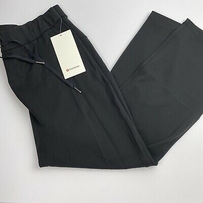 $ CDN100.56 • Buy Lululemon On The Fly Pant 7/8 Black Full On Luxtreme Size 12 New $98