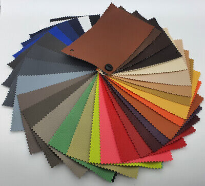 Grain Faux Leather Leatherette Fabric Heavy Duty Material Upholstery Clothing  • 4.75£