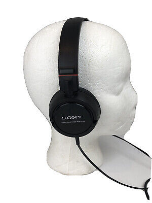 £10.86 • Buy Sony ZX Series Black On-Ear Wired Headphones MDR-ZX100 Sounds Great