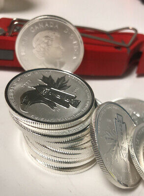 $ CDN37.99 • Buy Canadian 2017 First Special Service Force 1/2 Oz Silver Coin 9999