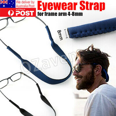 AU5.95 • Buy Sunglasses Eyewear Reading Glasses Neoprene Sports Band Neck Cord Strap
