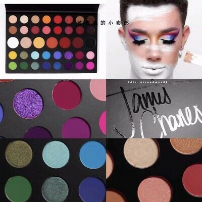 AU19.99 • Buy Morphe X The James Charles Palette Ultra-Smooth Creamy 39 Colors Eyeshadow-AU