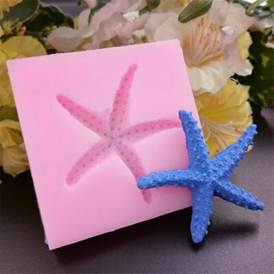 £2.99 • Buy Sea Fish Star Shell Silicone Fondant Mould Cake Topper Decoration Baking Mold 3D