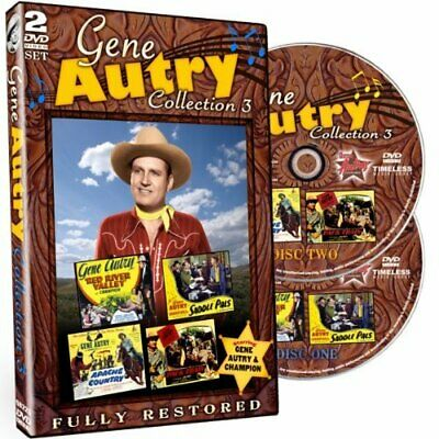 Autry,gene-gene Autry: Movie Collection 3 (2pc) / (full) (us Import) Dvd New • 12.84£