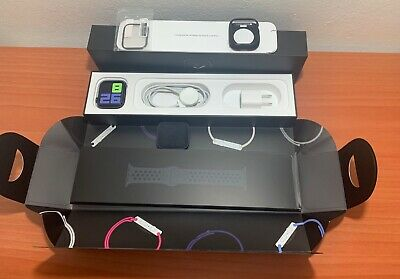 $ CDN467.70 • Buy Apple Watch Series 5 Nike 44mm Space Gray Aluminum Case With Anthracite/Black...