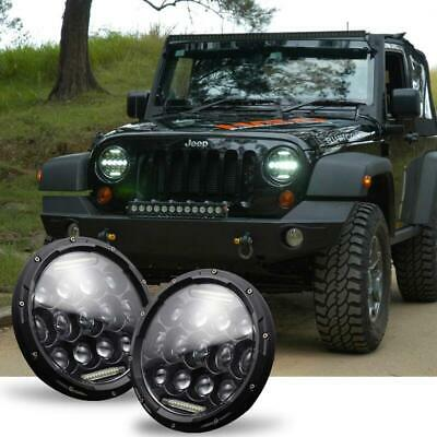 AU65 • Buy 2 X 7 Inches 300W LED Work Light Bar Offroad Driving Lamp 4WD ATV Spot Floodligh