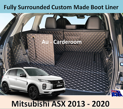 AU126 • Buy Mitsubishi ASX 2013 - 2021 Custom Made Trunk Boot Mats Liner Cargo Mat Cover