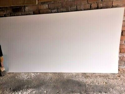 250 X 132cms Or 8.2 X 4.4ft White Matt High Quality Formica / Laminate Sheets • 35£