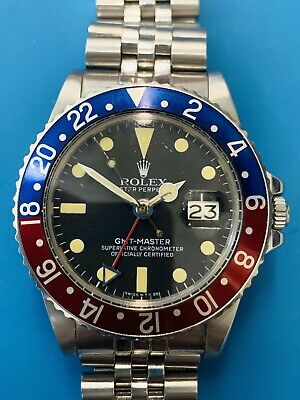 $ CDN34751.60 • Buy Rolex GMT  Ref.1675 Complete With Box And Papers SUBLIME !(387)