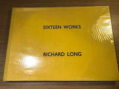 SIXTEEN WORKS By Richard Long One Of 500 Hardback Signed Copies • 100£