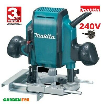 Makita RP0900X 240V Main Electric ROUTER - Includes Case RP0900X 0088381099226 • 147.97£