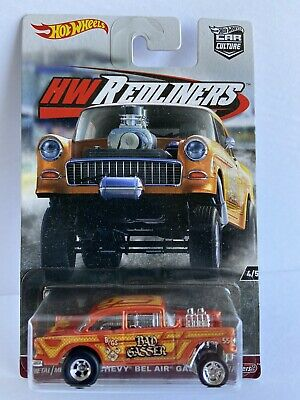 $25 • Buy Hot Wheels 55 Chevy Gasser From The Car  Culture Redliners Series / Real Riders