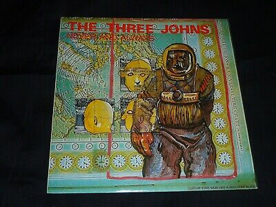 12  Vinyl - The Three Johns - Never And Always • 4£