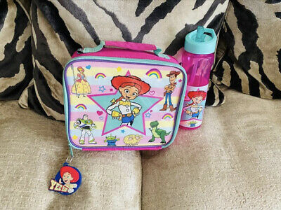 Toy Story Jessie Characters Children's Girls School Food Container Lunch Box Bag • 8£