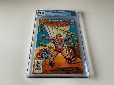 $297.49 • Buy Masters Of The Universe 1 Cgc 9.8 White Pages He Man 1st Full Comic Dc 1982
