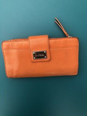 Jane Shilton Orange Purse Wallet Vintage Retro • 7.75£