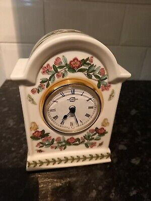 Portmerion Botanic Garden Mantle Clock • 8.99£