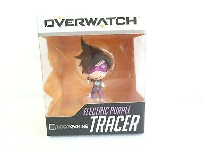 AU42.77 • Buy Blizzard Overwatch Electric Purple Tracer Character Model Figurine Loot Gaming