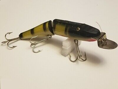 $ CDN19.77 • Buy Vintage Creek Chub Jointed Husky Pike Minnow 3000, Color 01 Perch Scale, 6  Lure