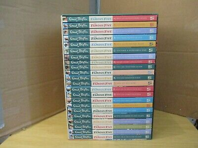 The Famous Five Collection 22 Books Box Set By Enid Blyton Excellent  • 32.99£