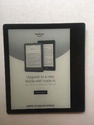 AU287.06 • Buy Amazon Kindle Oasis (9th Generation) 8GB, Wi-Fi, 7in - Graphite With Amazon