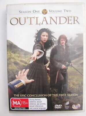 AU10 • Buy OUTLANDER Season 1 Volume 2 DVD - GC - Aus Region