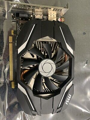 $ CDN105.46 • Buy MSI NVIDIA GeForce GTX 1060 3GB GDDR5 MINI Cleaned Tested Fast Shipping