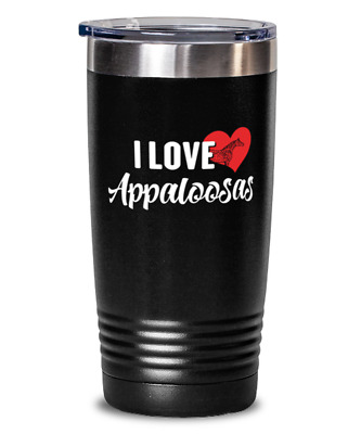 Appaloosas Horse Gift For Horse Lovers - Appaloosas Tumbler Present Travel Mug 2 • 21.49£