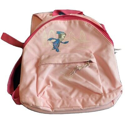 LONDON OLYMPICS 2012 KIDS MANDEVILLE BACKPACK PINK OFFICIAL MERCHANDISE Used • 2.99£