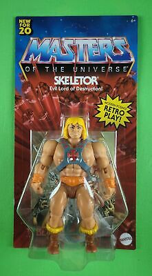 $149.95 • Buy Masters Of The Universe Origins He-man On Unpunched Skeletor Card! Ultra Rare!!