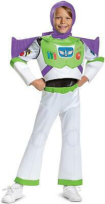 £20.41 • Buy Disney Pixar Buzz Lightyear Toy Story 4 Deluxe Size M 7/8 Boys Costume Disguise