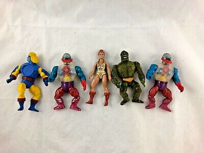 $9.99 • Buy Lot Of 5 - Vintage - Masters Of The Universe - Action Figures - MUTU
