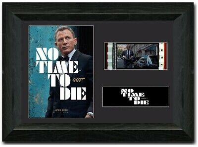 No Time To Die 007  35mm Framed Film Cell Display James Bond NEW  • 14.99£