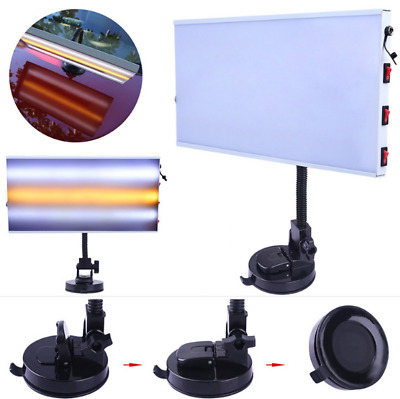 Paintless Dent Removal PDR Tools LED Light Lamp 3-Strips PDR Hail Repair Doctor • 29.99£