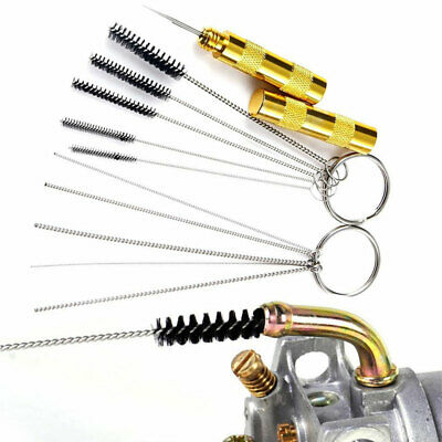 £7.40 • Buy 11pcs/Set Airbrush Cleaner Needle & Brush For Spray Gun Cleaning Accessories Kit