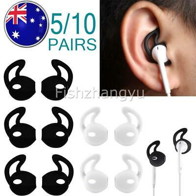 AU12.90 • Buy 5/10 Pairs Silicone Ear Hooks Skin Cover For Apple AirPods AirPod Headphones NEW