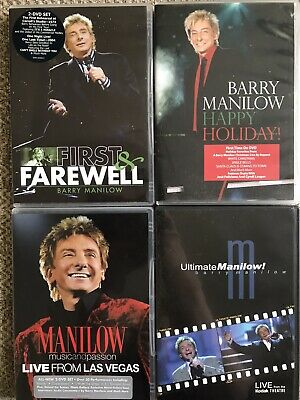 Four Barry Manilow DVD's • 4£