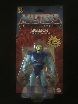 "$23.95 • Buy Mattel SKELETOR Masters Of The Universe Origins Retro 5.5"" NEW SEALED"