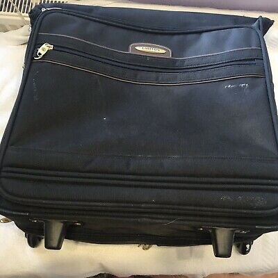 Vintage Carlton Zipped Suit/dress Carrier .Garment Travel Wardrobe Bag On Wheels • 150£