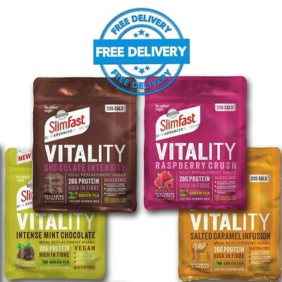 £11.49 • Buy Slimfast Advanced Vitality Meal Replacement Shake - 400g Bag - Various Flavours